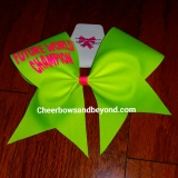 Future Champion Solid Cheer Bow