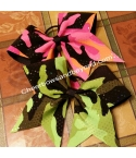 Camo Hair Bows 2 color ..