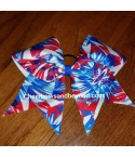 American Aztec Cheer Bow