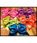 Metallic Zebra Cheer Bow
