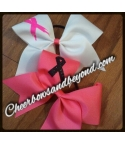Breast Cancer Cheer Bow..