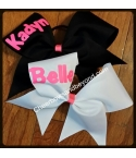 Personalized Cheer Bow-..