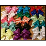 Holographic Solid Cheer Bows & Key Cha..