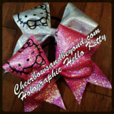 Holographic Hello Kitty Cheer Bow