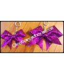 Mini Bow Glitter Key Ch..