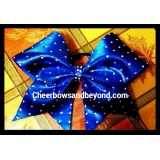 Rhinestone Mystic or Solid Cheer Bows ..