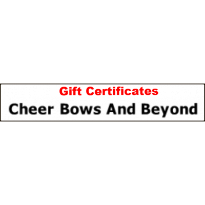 Gift Certificate ..