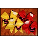 BFF Mickey Hand Cheer Bow or Big Sis ..