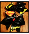 Superman Bow & Batman C..