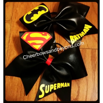 Superman Bow & Bat..