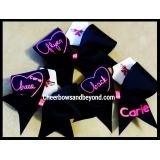 New Heart Stunting Cheer Bows *Several..