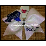 Dallas National Glitter Cheer Bow *Sev..