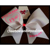Eat Sleep Cheer Repeat Cheer Bow*Sever..