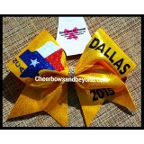 Dallas National Cheer Bow *NCA Not Inc..