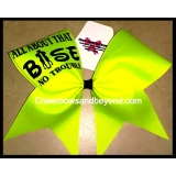 Its All About My Base Cheer Bow *sever..