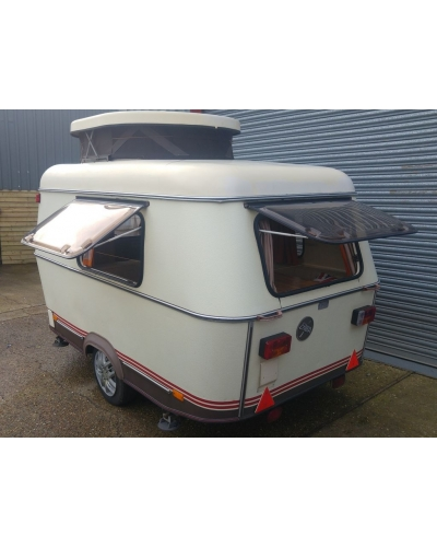 1986 Puck Original with fridge and awning. See Video