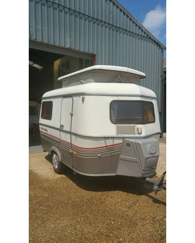 SOLD 1991 Eriba Pan with 2 sided awning