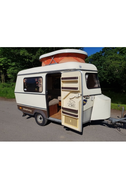 1982 Eriba Puck with awning