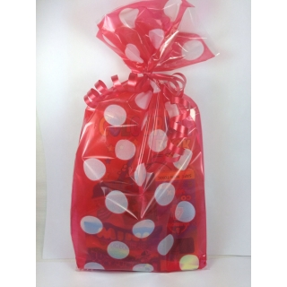 Red Polka Dot Party Bags