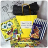 Sponge Bob Filled Deluxe Party Bags