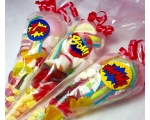 Super Hero Party Sweet Cone Gifts