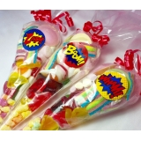 Super Hero Theme Sweet Cones