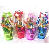 Reusble Plastic Filled Party Cups
