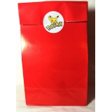 Pokemon Theme Pre Filled Paper Bags  Red