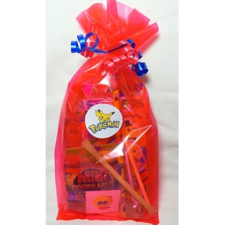 Pokemon Cello Party Bags Red
