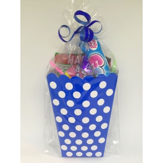 Blue Polka Dot Sweet Box
