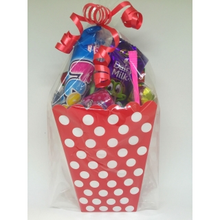 Red Polka Dot Sweet Box