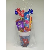 Spiderman Party Sweet Cups