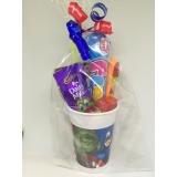 Avengers Super Hero Party Sweet Cups