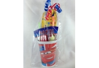 Disney Cars 2 - Pre Filled Party Cups