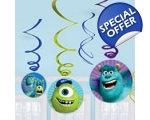 Monsters University Party Hanging Swirls
