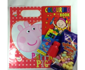 Peppa Pig Filled Party Loot Bags