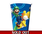 Super Mario Brothers Party Cups 266ml  8pk