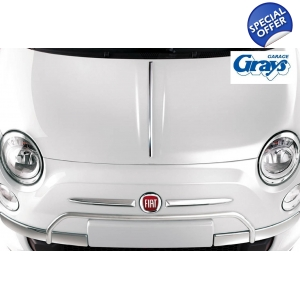 Fiat 500 Chrome Bonnet ..