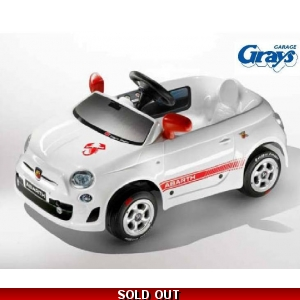 Fiat 500 Abarth Pedal Car | ..