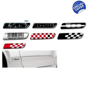 Fiat Side Moulding Badge Set..