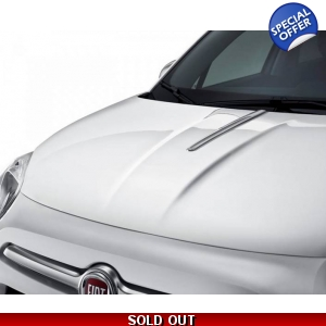 Fiat 500X Chrome Bonnet Line..