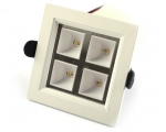 GEMINI* - 32W RGBW LED Ceiling Down Light - Square