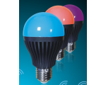 LED RGBW Dimmable RF/WiFi Light Bulb - Colour ch..