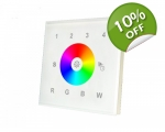 Colour Pad RGB/W 4 - RGBW wall plate LED control..
