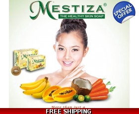 MESTIZA SKIN WHITENING /HERBAL SOAP