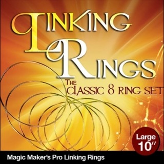 Linking Rings Large 10 inch Set of 8 R..