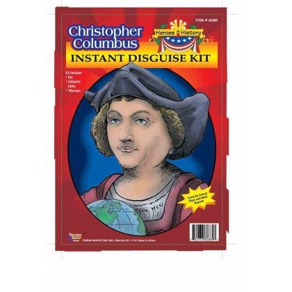 Instant Disguise Kit: Christopher Columbus