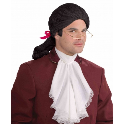 Historical Male Wig - BLACK