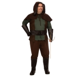 Plus Size Robin Hood Adult Costume