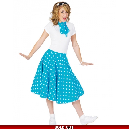 Sock Hop Skirt & Scarf